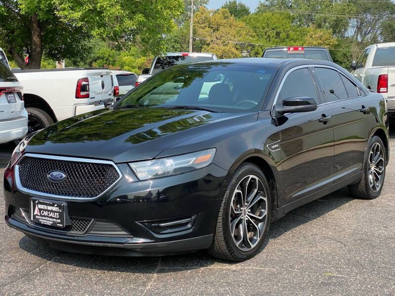 2016 Ford Taurus for sale at North Imports LLC in Burnsville MN