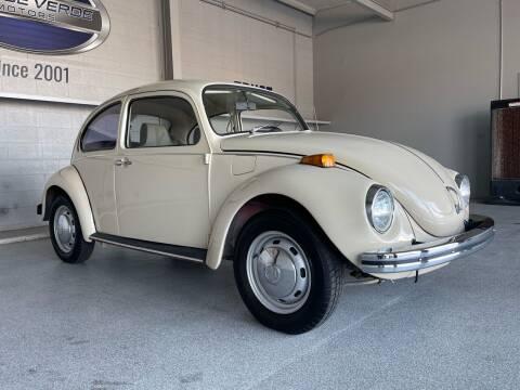 1971 Volkswagen Beetle for sale at TANQUE VERDE MOTORS in Tucson AZ