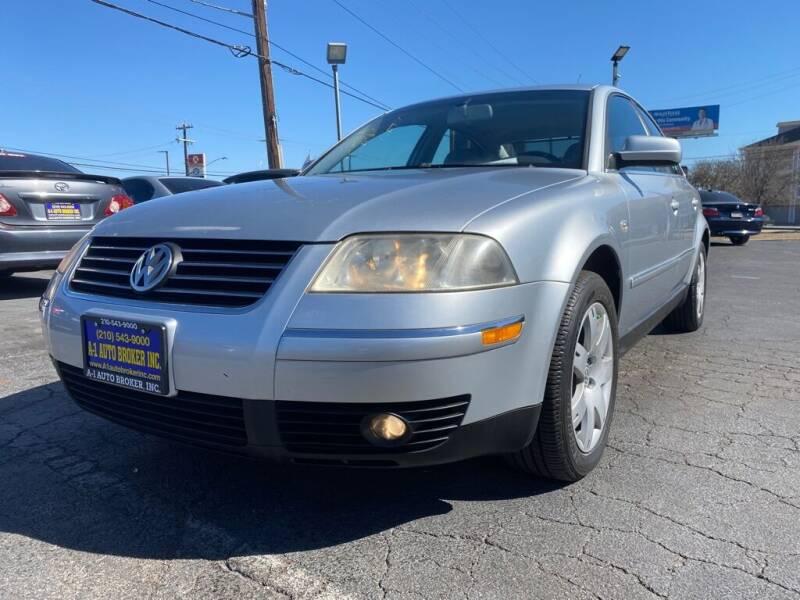 2003 Volkswagen Passat for sale at A-1 Auto Broker Inc. in San Antonio TX