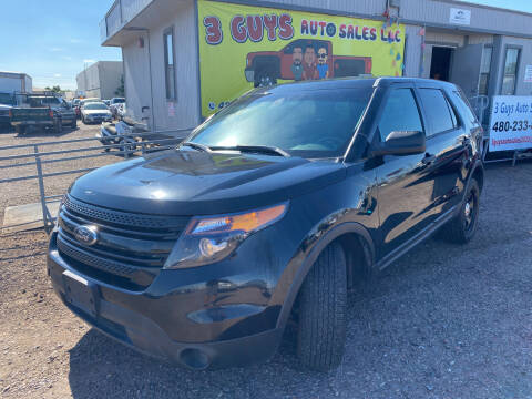 2014 Ford Explorer for sale at 3 Guys Auto Sales LLC in Phoenix AZ