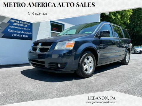 2008 Dodge Grand Caravan for sale at METRO AMERICA AUTO SALES of Lebanon in Lebanon PA