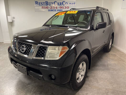 2007 Nissan Pathfinder for sale at Best Buy Car Co in Independence MO
