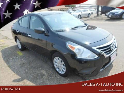 2017 Nissan Versa for sale at Dales A-1 Auto Inc in Jamestown ND