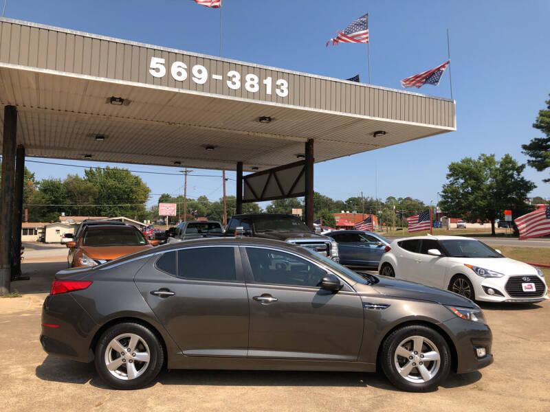 2015 Kia Optima for sale at BOB SMITH AUTO SALES in Mineola TX