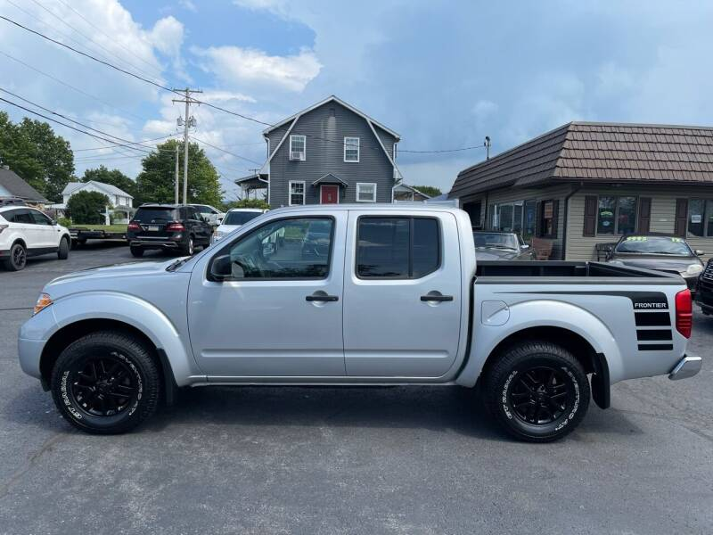 2019 Nissan Frontier for sale at MAGNUM MOTORS in Reedsville PA