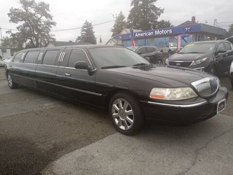 2005 Lincoln Town Car for sale at All American Motors in Tacoma WA