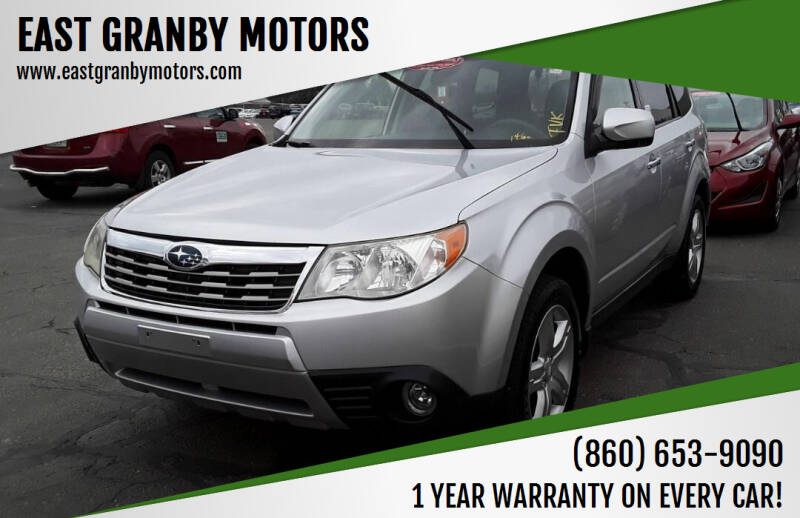 2010 Subaru Forester for sale at EAST GRANBY MOTORS in East Granby CT