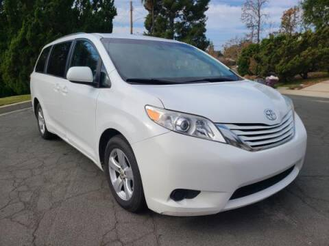 2015 Toyota Sienna for sale at CAR CITY SALES in La Crescenta CA