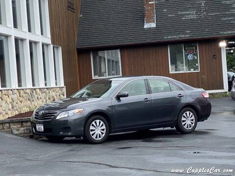 2010 Toyota Camry for sale at Cupples Car Company in Belmont NH