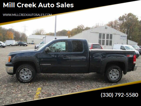 2008 GMC Sierra 1500 for sale at Mill Creek Auto Sales in Youngstown OH