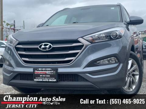 2016 Hyundai Tucson for sale at CHAMPION AUTO SALES OF JERSEY CITY in Jersey City NJ