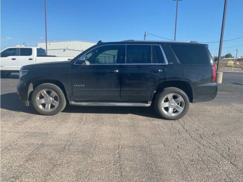 2016 Chevrolet Tahoe for sale at STANLEY FORD ANDREWS in Andrews TX