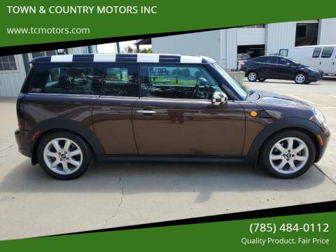 2008 MINI Cooper Clubman for sale at TOWN & COUNTRY MOTORS INC in Meriden KS