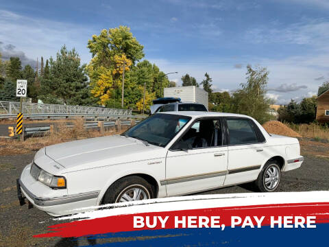 1993 Oldsmobile Cutlass Ciera for sale at Retro Classic Auto Sales - Modern Cars in Spangle WA