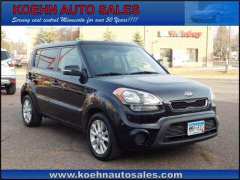 2013 Kia Soul for sale at Koehn Auto Sales in Lindstrom MN