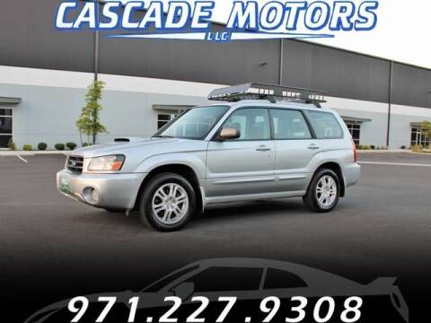 2005 Subaru Forester for sale at Cascade Motors in Portland OR
