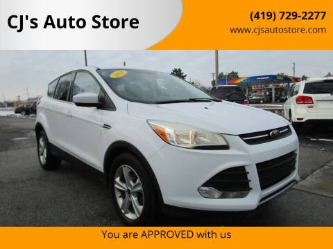 2014 Ford Escape for sale at CJ's Auto Store in Toledo OH