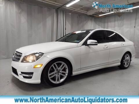2013 Mercedes-Benz C-Class for sale at North American Auto Liquidators in Essington PA