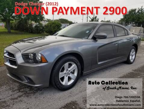 2012 Dodge Charger for sale at AUTO COLLECTION OF SOUTH MIAMI in Miami FL