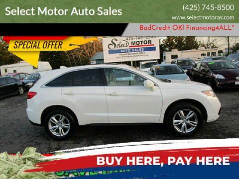 2014 Acura RDX for sale at Select Motor Auto Sales in Lynnwood WA