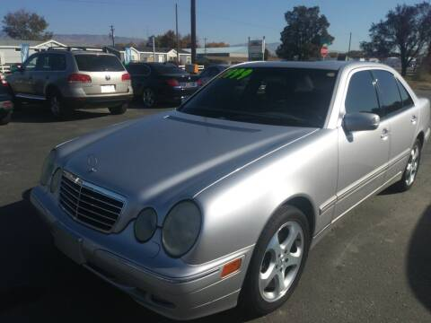 2002 Mercedes-Benz E-Class for sale at Marvelous Motors in Garden City ID