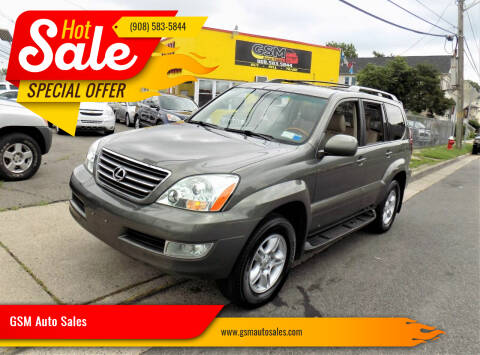 2007 Lexus GX 470 for sale at GSM Auto Sales in Linden NJ