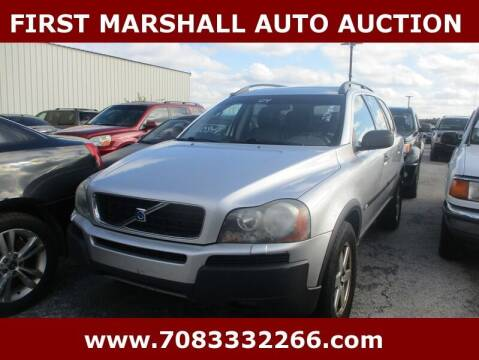 2004 Volvo XC90 for sale at First Marshall Auto Auction in Harvey IL