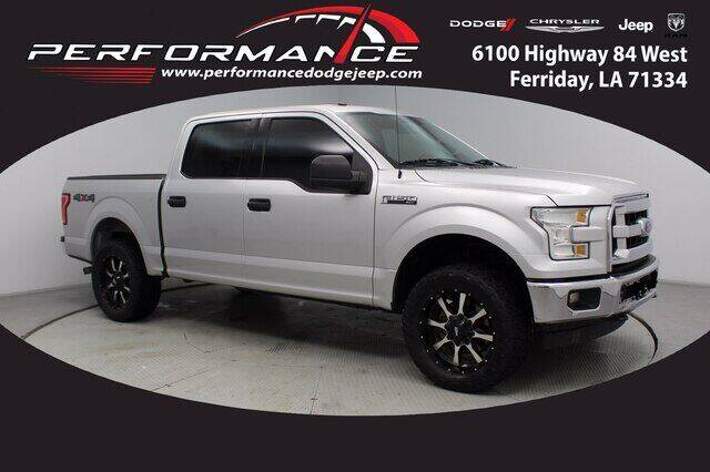 2017 Ford F-150 for sale at Performance Dodge Chrysler Jeep in Ferriday LA