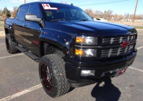 2014 Chevrolet Silverado 1500 for sale at VISTA AUTO SALES in Longmont CO