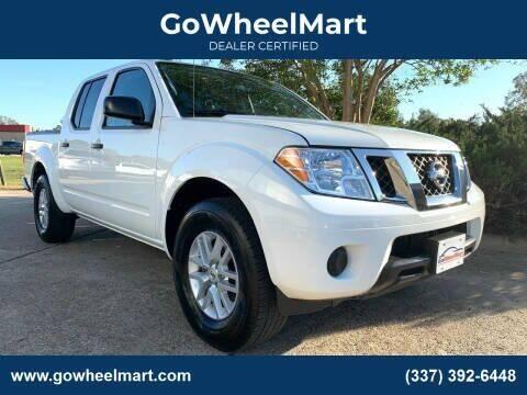 2017 Nissan Frontier for sale at GOWHEELMART in Leesville LA