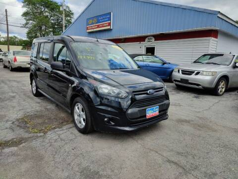 2015 Ford Transit Connect Wagon for sale at Peter Kay Auto Sales in Alden NY
