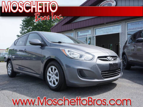 2014 Hyundai Accent for sale at Moschetto Bros. Inc in Methuen MA