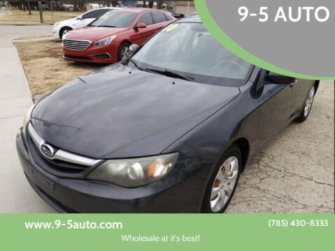 2010 Subaru Impreza for sale at 9-5 AUTO in Topeka KS