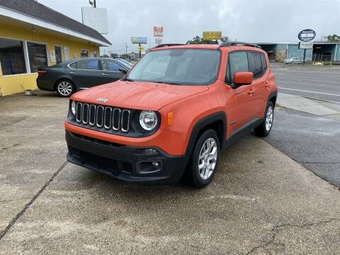 2016 Jeep Renegade for sale at THE COLISEUM MOTORS in Pensacola FL