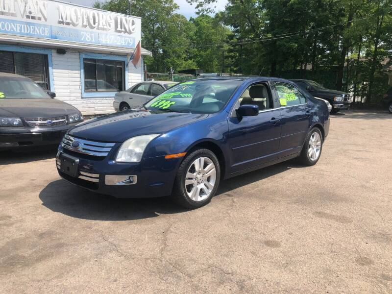 2007 Ford Fusion for sale at Lucien Sullivan Motors INC in Whitman MA