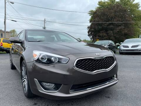 2014 Kia Cadenza for sale at Brownsburg Imports LLC in Indianapolis IN