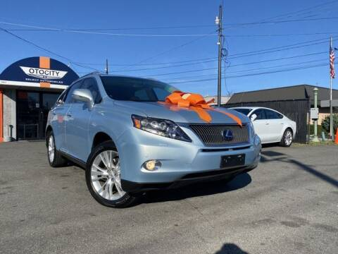 2011 Lexus RX 450h for sale at OTOCITY in Totowa NJ