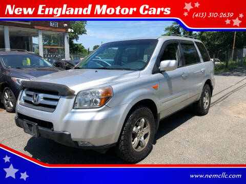 2007 Honda Pilot for sale at New England Motor Cars in Springfield MA