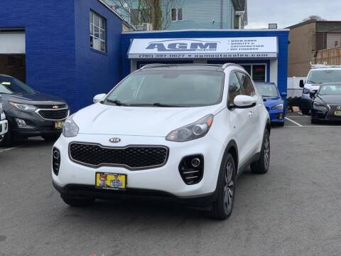2017 Kia Sportage for sale at AGM AUTO SALES in Malden MA