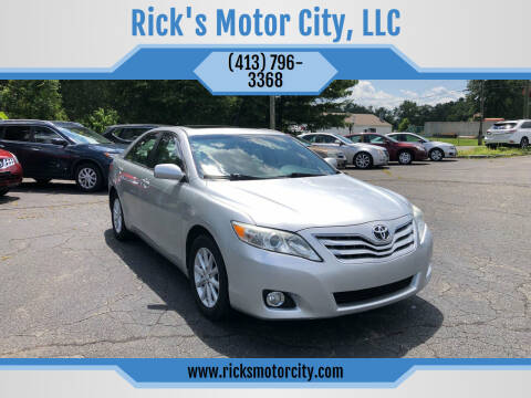2010 Toyota Camry for sale at Rick's Motor City, LLC in Springfield MA