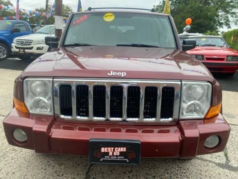 2007 Jeep Commander for sale at Best Cars R Us in Plainfield NJ