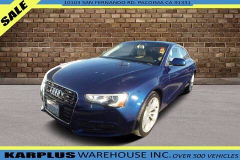 2014 Audi A5 for sale at Karplus Warehouse in Pacoima CA