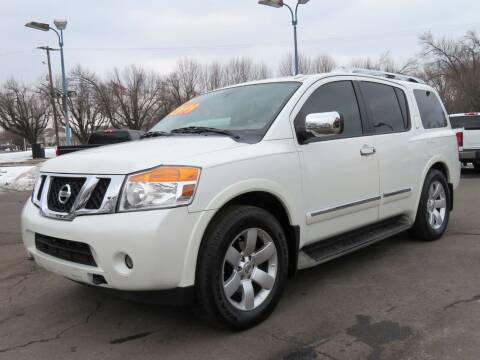2014 Nissan Armada for sale at Low Cost Cars North in Whitehall OH