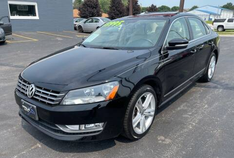 2014 Volkswagen Passat for sale at Eagle Auto LLC in Green Bay WI