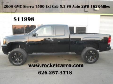 2008 GMC Sierra 1500 for sale at Rocket Car sales in Covina CA