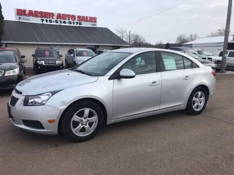 2014 Chevrolet Cruze for sale at BLAESER AUTO LLC in Chippewa Falls WI