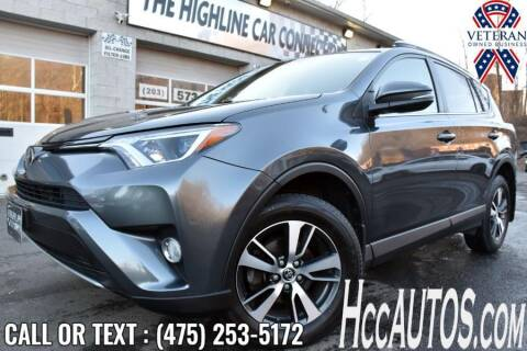2017 Toyota RAV4 for sale at The Highline Car Connection in Waterbury CT