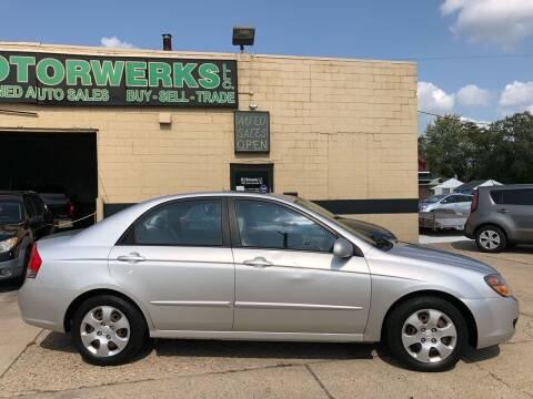 2009 Kia Spectra for sale at MLD Motorwerks Pre-Owned Auto Sales - MLD Motorwerks, LLC in Eastpointe MI