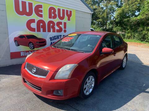 2010 Nissan Sentra for sale at Right Price Auto Sales in Murfreesboro TN