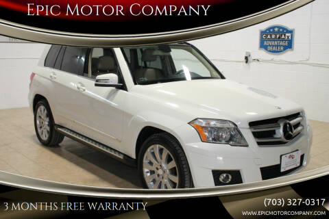 2010 Mercedes-Benz GLK for sale at Epic Motor Company in Chantilly VA